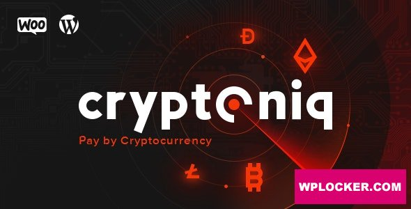 Cryptoniq v1.8 - Cryptocurrency Payment Plugin for WordPress