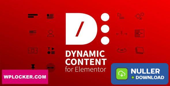 Dynamic Content for Elementor v1.9.5.1