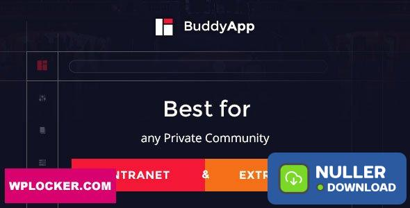 BuddyApp v1.8.1 - Mobile First Community WordPress theme
