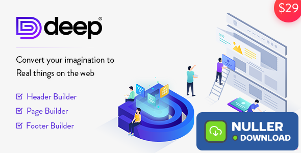 Deep v4.2.7 - Creative Multi-Purpose WordPress Theme