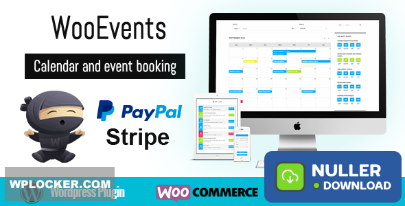 WooEvents v3.6.1 - Calendar and Event Booking