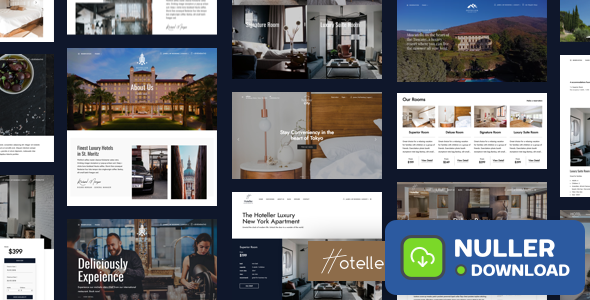 Hoteller v4.4.1 - Hotel Booking WordPress