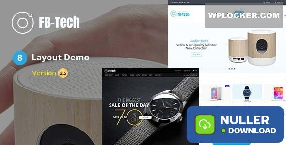 FB-Tech v2.8 - Digital RTL WooCommerce Theme