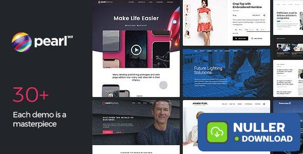 Pearl WP v3.2.3 - Corporate Business WordPress Theme