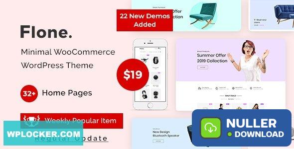 Flone v1.2.7 – Minimal WooCommerce WordPress Theme