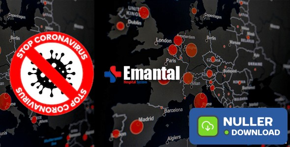 Emantals v1.0 - Hospital Management System with Website