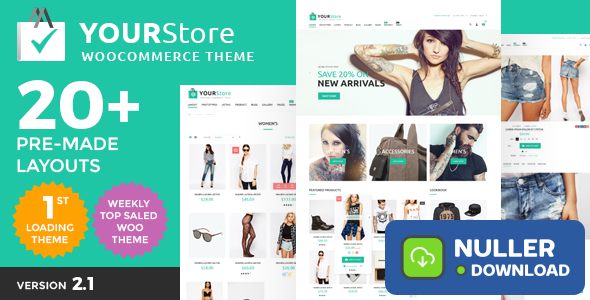 YourStore v2.6 - Woocommerce theme