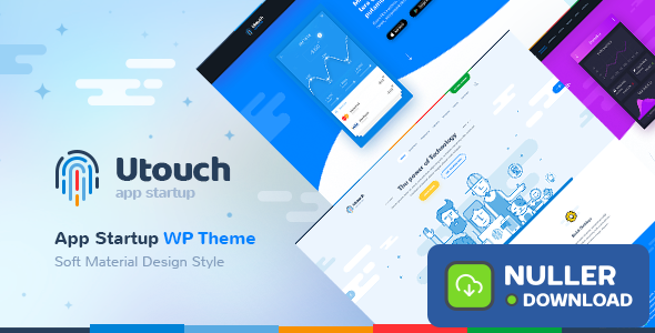 Utouch v2.9 - Startup Business and Digital Technology