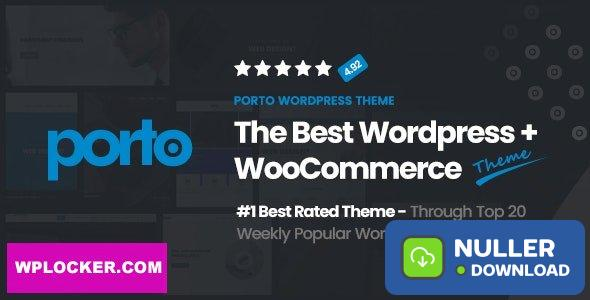 Porto v5.4.4 - Responsive eCommerce WordPress Theme