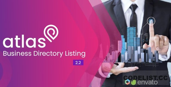 Atlas Business Directory Listing v2.2 - nulled