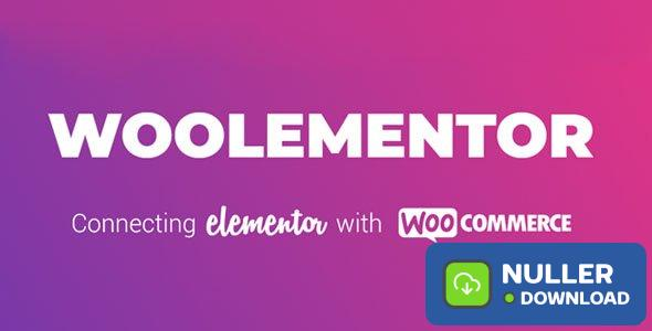 Woolementor Pro v1.2.0 - Connecting Elementor with WooCommerce