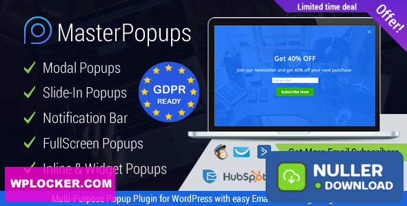 Master Popups v3.5.2 - Popup Plugin for Lead Generation