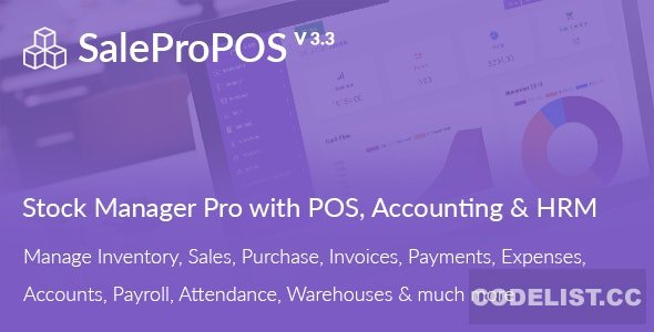 SalePro v3.3 - Inventory Management System with POS, HRM, Accounting - nulled
