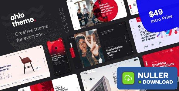 Ohio v1.2.1 - Creative Portfolio & Agency WordPress Theme