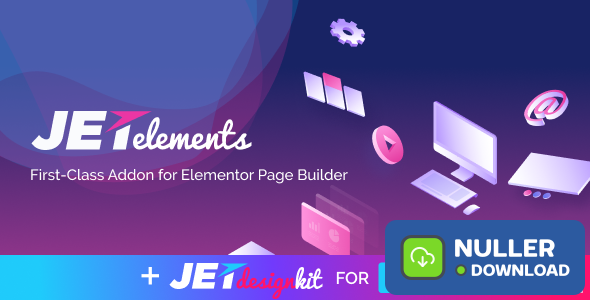 JetElements v2.3.3 - Addon for Elementor Page Builder