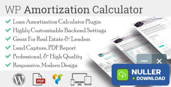 WP Amortization Calculator v1.5.5