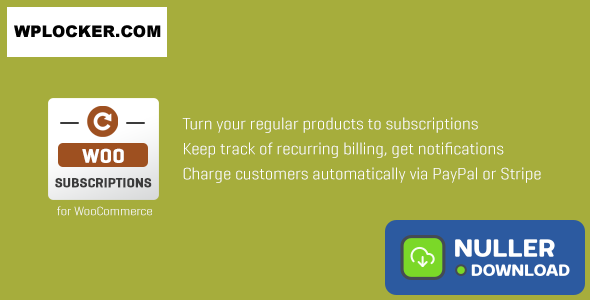Subscriptio v3.0.4 - WooCommerce Subscriptions