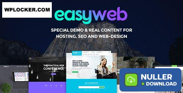 EasyWeb v2.4.4 - WP Theme For Hosting, SEO and Web-design