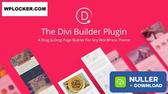Divi Builder v4.4.8 - Drag & Drop Page Builder WP Plugin