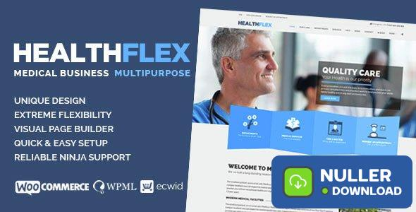 HEALTHFLEX v1.6.5 - Medical Health WordPress Theme
