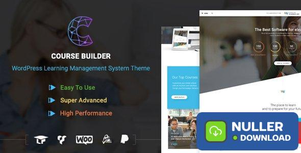 Course Builder v3.1.6 - LMS Theme for Online Courses