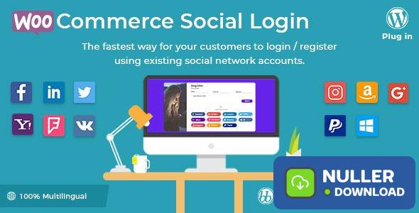 WooCommerce Social Login v2.2.4 - WordPress plugin