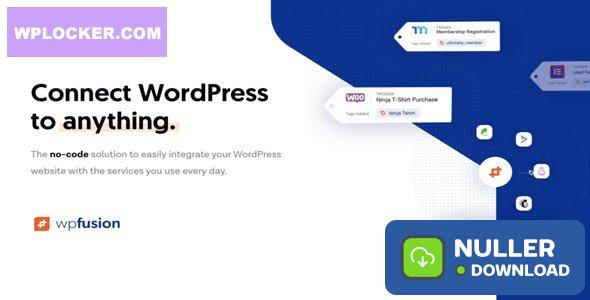 WP Fusion v3.32.4 - Connect WordPress to anything