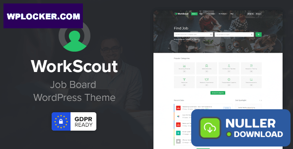 WorkScout v2.0.15 - Job Board WordPress Theme