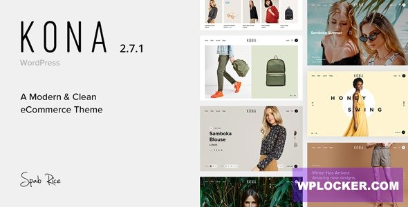 Kona v2.7.1 - Modern & Clean eCommerce WordPress Theme