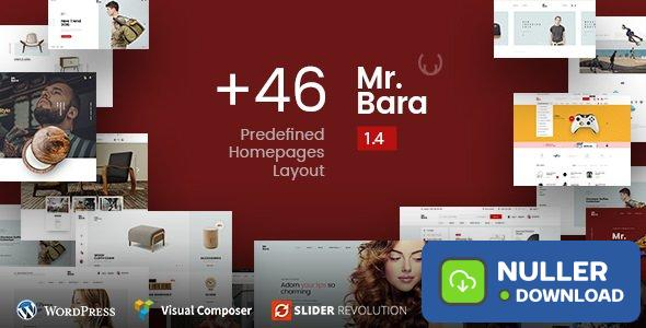 Mr.Bara v1.8.1 - Responsive Multi-Purpose eCommerce Theme