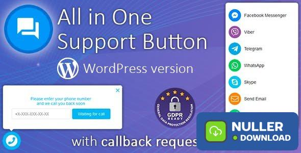 Contact us all-in-one button with callback v1.8.9