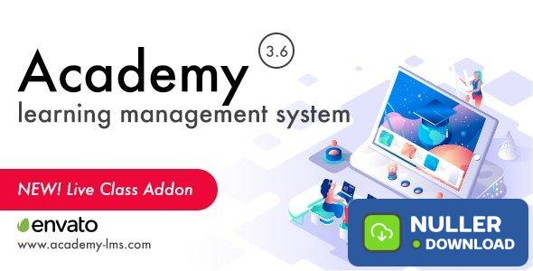 Academy Learning Management System v3.6 - nulled