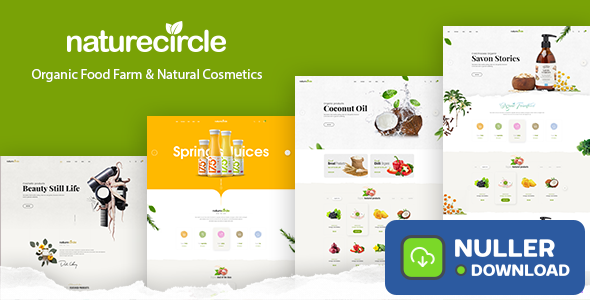NatureCircle v1.0.7 - Organic Theme for WooCommerce