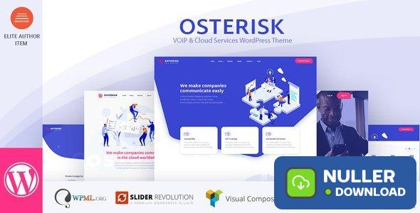 Osterisk v2.0 - VOIP & Cloud Services WordPress Theme