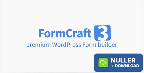 FormCraft v3.8.21 - Premium WordPress Form Builder