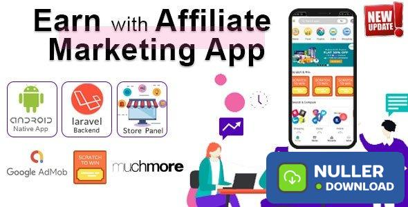 Affiliate Marketing app with PHP Backend v1.3