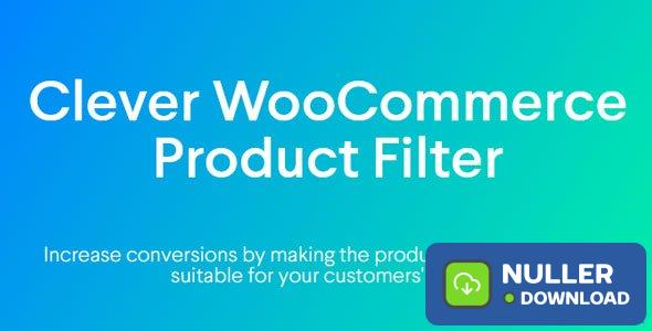Clever WooCommerce Product Filter v1.0.0