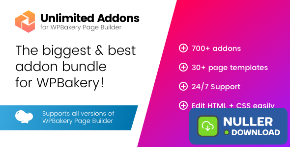 Unlimited Addons for WPBakery Page Builder v1.0.41