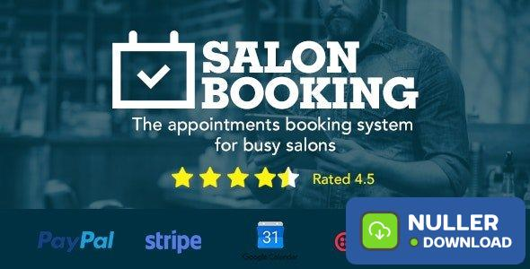 Salon Booking v3.4.3.2 - Wordpress Plugin