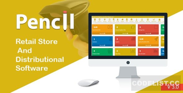 Pencil v3.0 - The Retail Store and Distribution Software