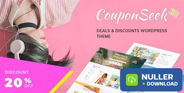 CouponSeek v1.1.4 - Deals & Discounts WordPress Theme
