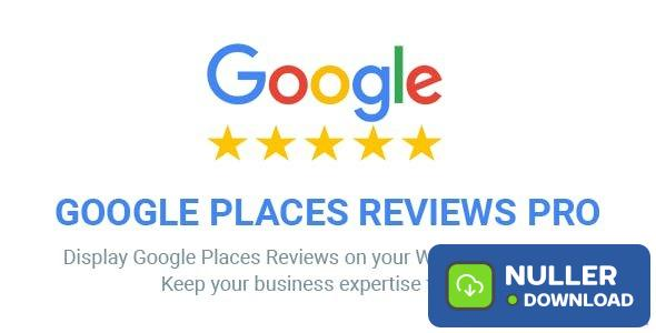 Google Places Reviews Pro v2.3.2 - WordPress Plugin