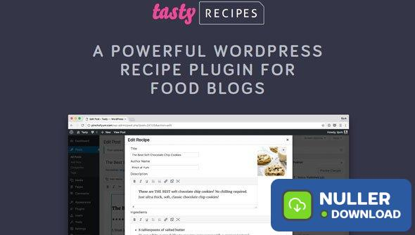 Tasty Recipes v2.8.0 - Recipe Plugin For Food Blogs