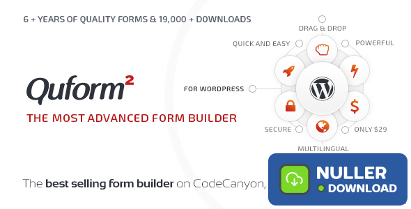 Quform v2.12.1 - WordPress Form Builder