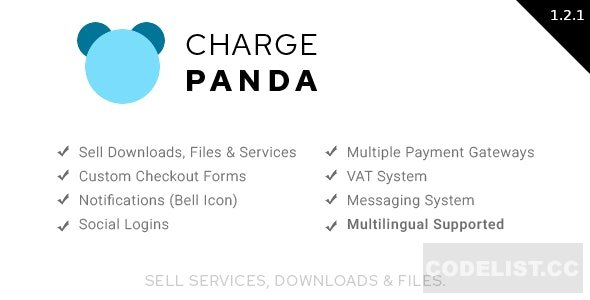 ChargePanda v1.2.1 - Sell Downloads, Files and Services (PHP Script)