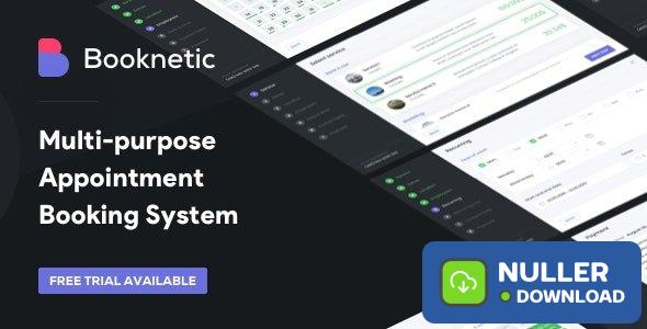 Booknetic v1.9.4 - WordPress Appointment Booking and Scheduling system