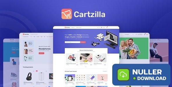 Cartzilla v1.0.4 - Digital Marketplace & Grocery Store WordPress Theme