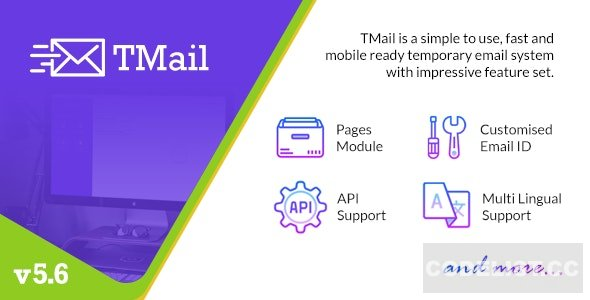 TMail v5.6 - Multi Domain Temporary Email System