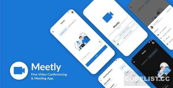 Meetly v1.10 - Free Video Conferencing & Meeting App