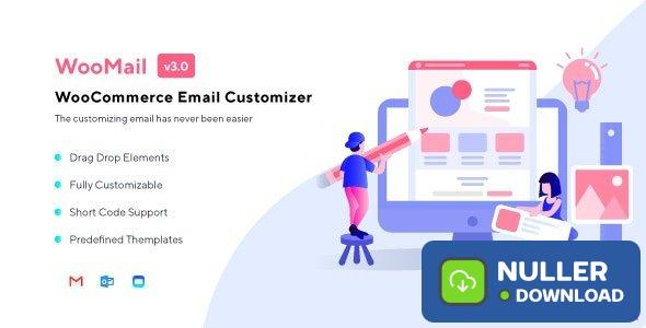 WooMail v3.0.8 - WooCommerce Email Customizer